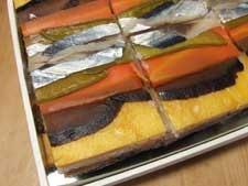 尾鷲市「すし処一重」の正月の寿司