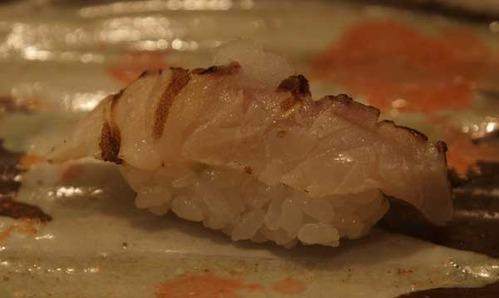 松江市内『大鯛寿司』の十二かん、その六鰆/サワラ