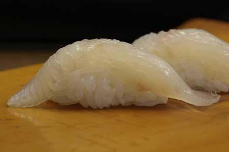 大鮃昆布締め/オヒョウ