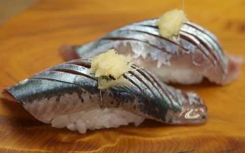 梅雨前の秋刀魚/サンマ