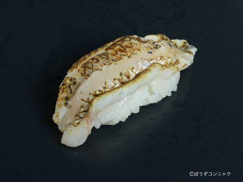 マトイシモチの焼霜造り握り