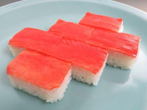 紅鮭の塩引寿司